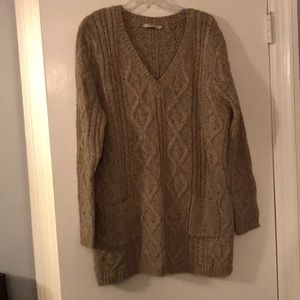 Wool/nylon/alpaca sweater from soft surroundings
